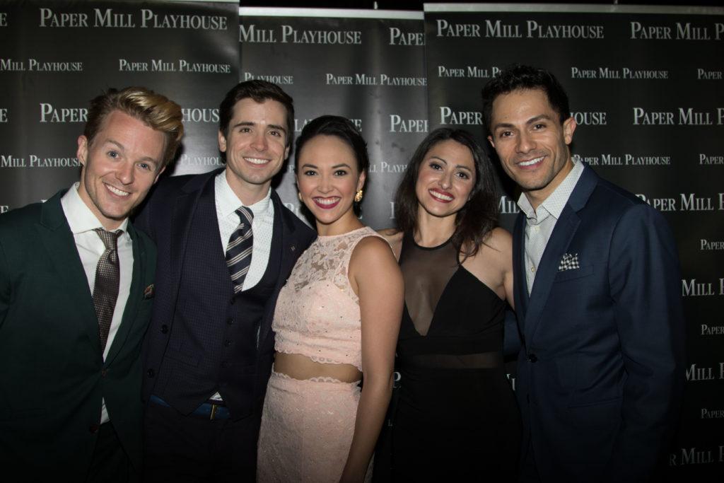Mark Winslow, Matt Doyle, Belinda Allyn, Natalie Cortez, and German Alexander