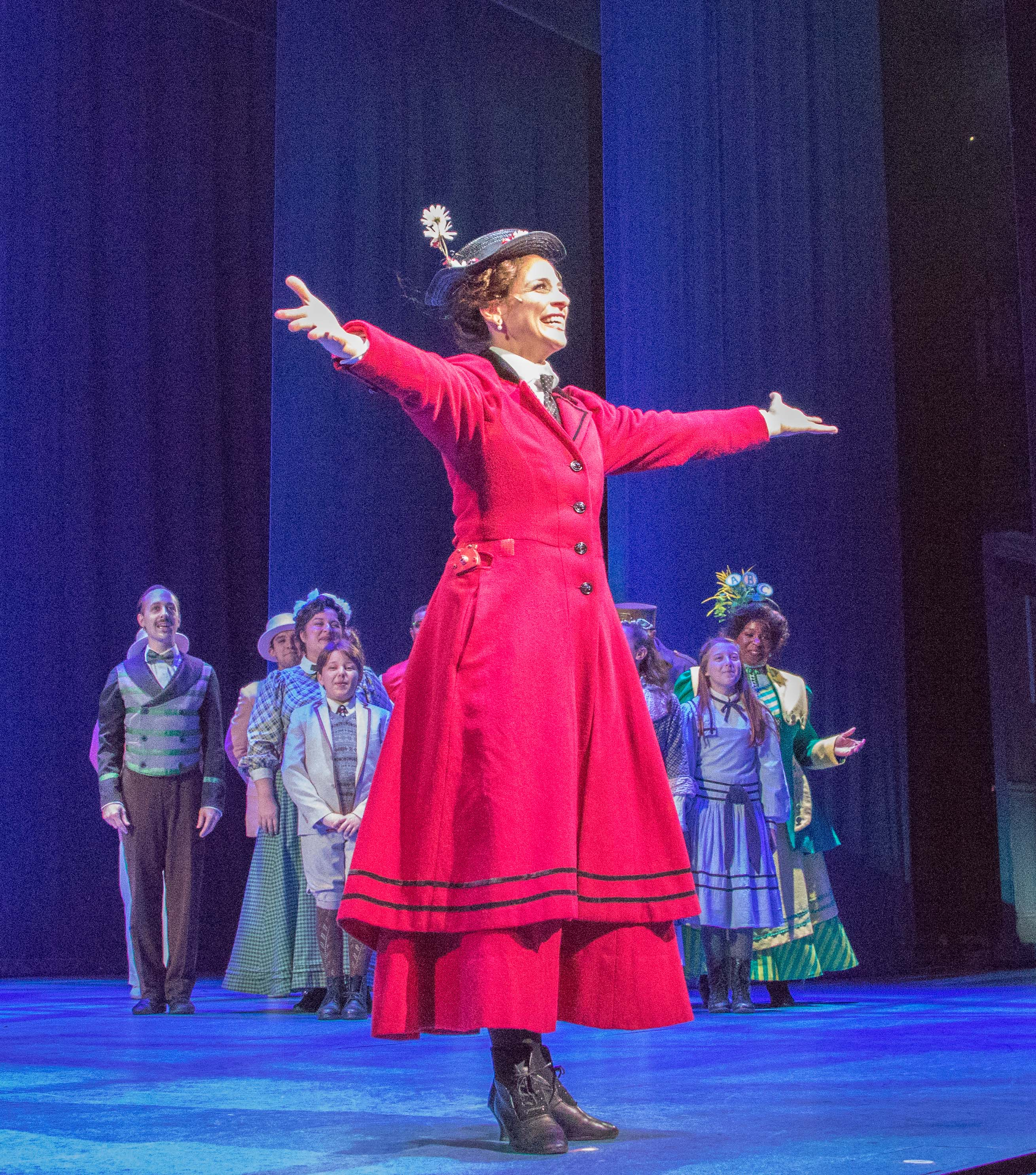 Mary Poppins Is Delightful Theater For All Ages Let S